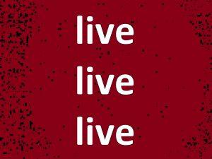 Live-Inhalte auf der Webpage